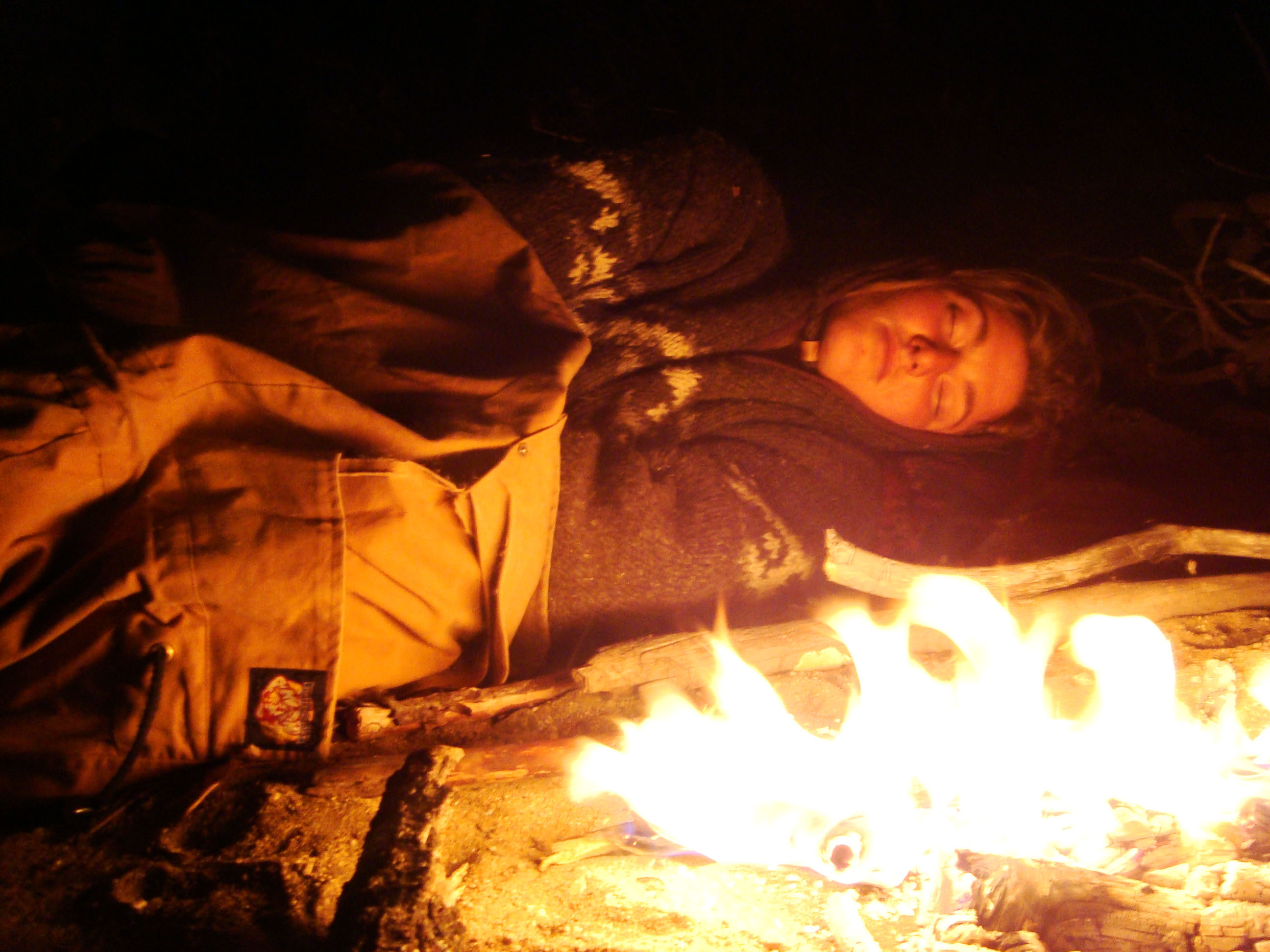 Survival Skill Of The Week Sleeping By A Fire With No